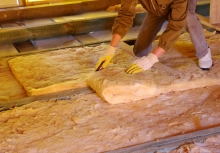 residential heating and cooling insulation installation