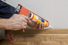 residential heating and cooling caulking