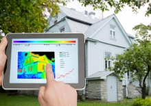 residential heating and cooling thermal imaging