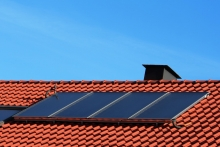 residential heating and cooling solar heating