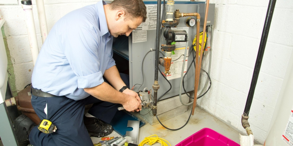 residential heating and cooling furnace repair