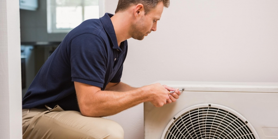 residential heating and cooling air conditioning installation